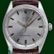 Rolex Vintage Air King 5500 Super Precision 1963 Silver Dial