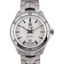 TAG Heuer Link Calibre 5 Day Date White