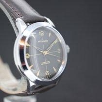 Movado Handaufzug Tropical Black Dial ca.1950