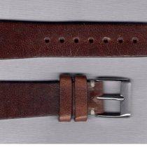 Vintage Brown Leather Strap 20/16 For Rolex/Omega/Longines/Tag...
