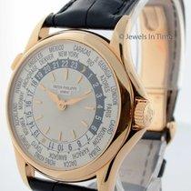 Patek Philippe World Time 5110 18K Rose Gold Mens Watch...