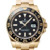 Ρολεξ (Rolex) Rolex GMT Master II Black Bezel 18k Gold/Steel...