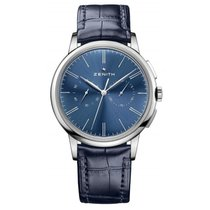 Zenith Elite Chronograph Classic Steel 42mm Blue United States of America, Pennsylvania, Holland