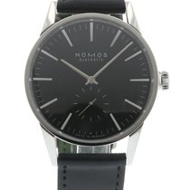 Nomos Zurich 803 Watch with Leather Bracelet and Stainless...