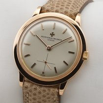 Vacheron Constantin Or rouge Remontage manuel 32,5mm occasion Patrimony