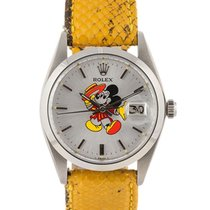 劳力士  Precision Date Topolino Mickey Mouse Dial 34mm In Acciaio...