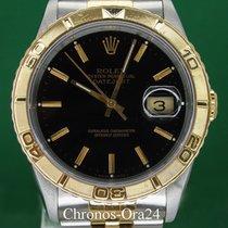 Rolex Datejust Turn-O-Graph Χρυσός / Ατσάλι 36mm Μαύρο Ελλάδα, Athens