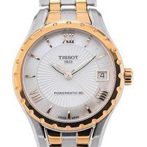 Tissot Lady 80 Automatic nieuw 34mm Goud/Staal