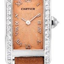 Cartier Tank Americaine A White Gold And Diamond-set Wristwatc...