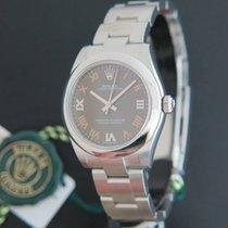Rolex Oyster Perpetual NEW 177200 Dark Grey Dial