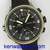 IWC Aquatimer Chronograph Bronz 44mm Negru Fara cifre