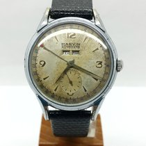 Marvin Steel 35,5mm Manual winding pre-owned