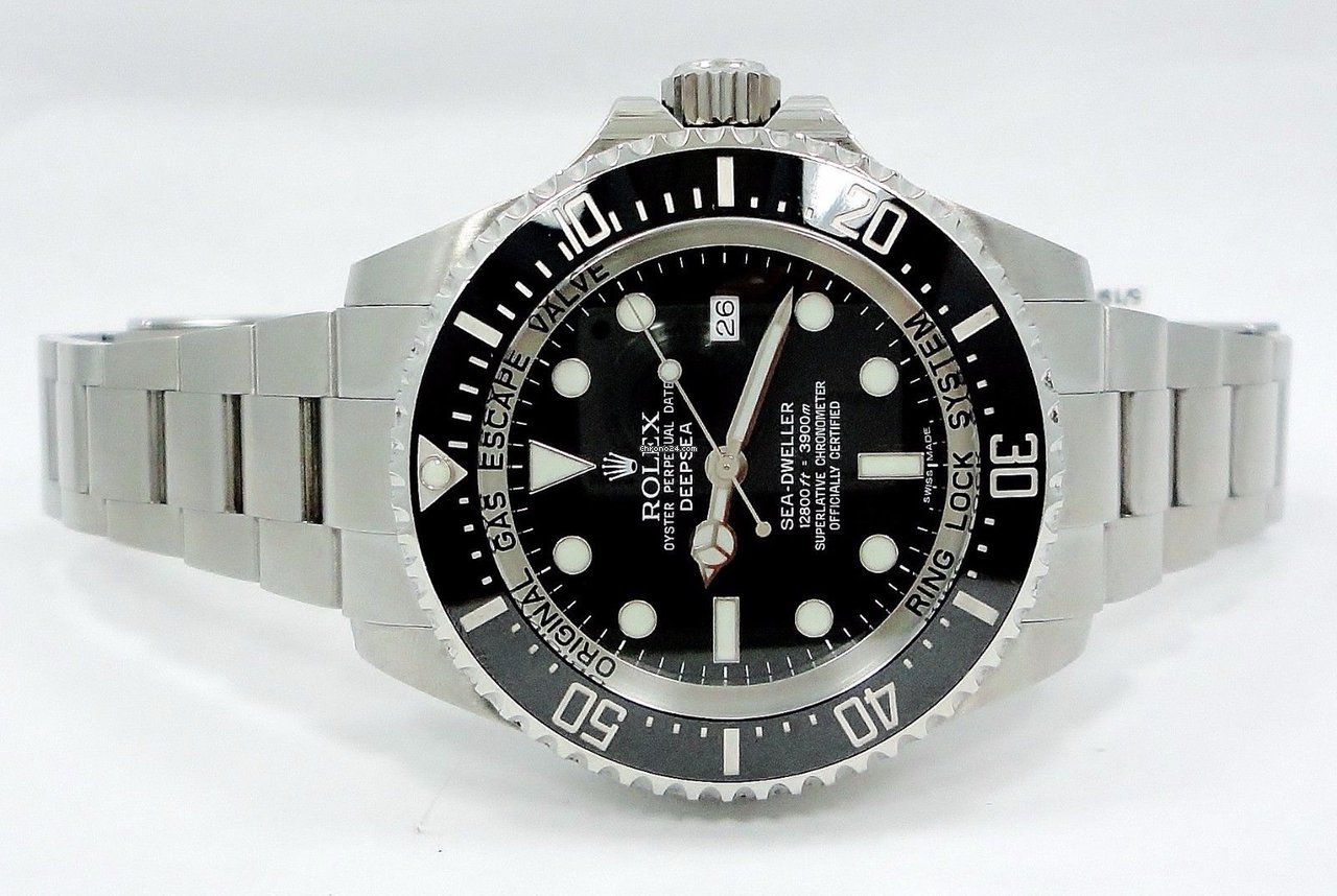 997c792ea9b Rolex Sea-dweller Deepsea 116660 Oyster Ss Ceramic Bezel Watch... for  $9,799 for sale from a Trusted Seller on Chrono24