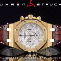 Audemars Piguet Royal Oak Chronograph Gelbgold 39mm Weiß Keine Ziffern Deutschland, Essen