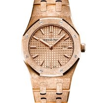 Audemars Piguet Royal Oak Lady Rose gold 33mm Gold No numerals