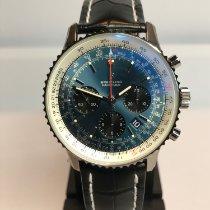 Breitling Navitimer 1 B01 Chronograph 43 Stahl 43mm Blau Keine Ziffern