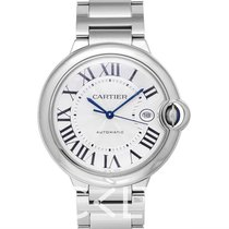 Cartier Ballon Bleu 42mm Staal