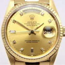 Rolex Day-Date 36 Gelbgold 36mm Gold Keine Ziffern Deutschland, Krefeld
