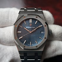 Audemars Piguet Royal Oak Steel 41mm Blue No numerals United States of America, Florida, Orlando