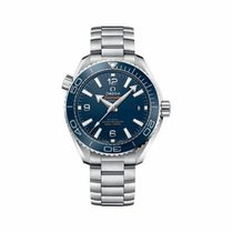 Omega Seamaster Planet Ocean Steel 39.5mm Blue Arabic numerals United States of America, Georgia, Alpharetta