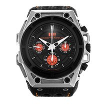 Linde Werdelin Spidospeed new Automatic Chronograph Watch with original box and original papers SPS.S.BO.1
