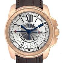 Cartier Calibre de Cartier Chronograph Roségold 45mm Silber
