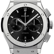 Hublot Classic Fusion Chronograph Titanium 42mm Black No numerals United States of America, New York, New York