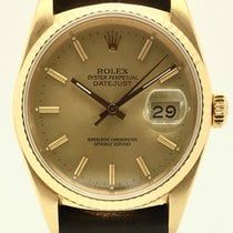 Rolex 16018 Yellow gold 1987 Datejust 36mm pre-owned United States of America, Florida, Miami