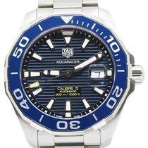 TAG Heuer Aquaracer 300M Steel 43mm Blue No numerals