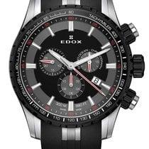 Edox Grand Ocean Steel 45mm Black