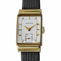 Hamilton pre-owned Manual winding 22.1mm Silver