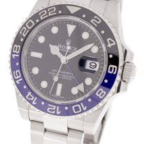 Rolex Steel 40,00mm Automatic 116710BLNR pre-owned