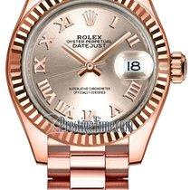 Rolex Pозовое золото Автоподзавод 28mm новые Lady-Datejust