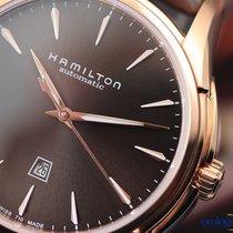 Hamilton Jazzmaster Viewmatic Steel 34,00mm Brown No numerals