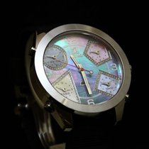 Jacob & Co. FIVE TIME ZONE MOTHER OF PEARL DIAMOND