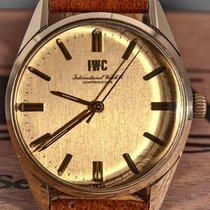 IWC R 910 Sehr gut Gold/Stahl 35mm Handaufzug
