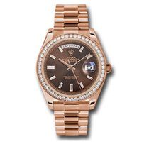 Rolex Day-Date 40 Rose gold 40mm Brown No numerals UAE, DUBAI (By Appointment 10am-10pm)