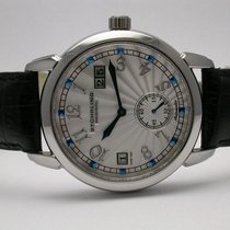 Stuhrling 90072 Automatic Lexus Black Leather Strap Mens Watch