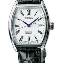 Seiko Presage Automatic Black Leather Strap Men's Watch SPB049