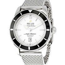 Breitling A1732024-G642 Superocean Heritage 46mm in Steel with...