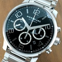 Montblanc Timewalker New With Tags Automatic Black Chronograph...