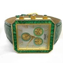 Piaget Haute Complication Piece Unique 18k YG Factory Emerald...