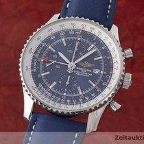 Breitling Navitimer World Chronograph Automatik Herrenuhr A24322