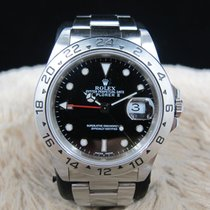Rolex EXPLORER 2 16570 with Black Dial