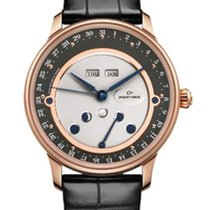 Jaquet-Droz Rose Gold MoonPhase Triple Calender 40mm
