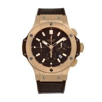 Hublot Rose gold Automatic Brown No numerals 44mm pre-owned Big Bang 44 mm
