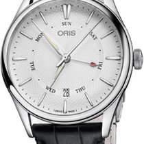 Oris Artelier Pointer Day Date Steel 40mm Silver United States of America, New York, Airmont