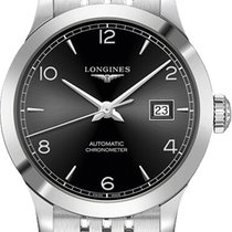Longines Record Steel 30mm Black United States of America, New York, Airmont