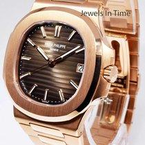 Patek Philippe Nautilus 18k Rose Gold Watch Box/Papers...