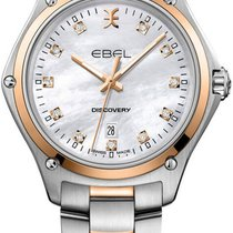 Ebel Discovery Gold/Steel 33mm Mother of pearl United States of America, New York, Airmont